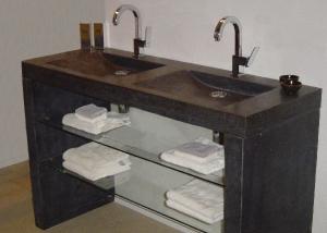 Badkamermeubel Met Sanitair : Wij leveren natuursteen wasbakken tegels badkamermeubels